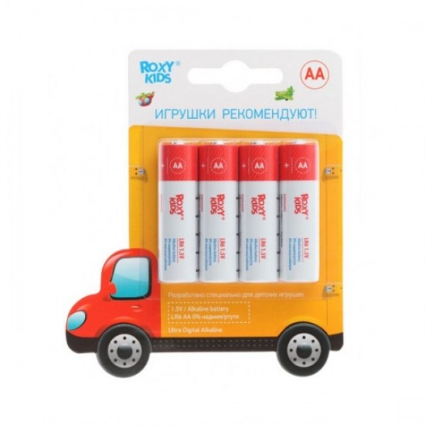 Элементы питания Ultra Premium Digital Машинка (4 шт. AA)