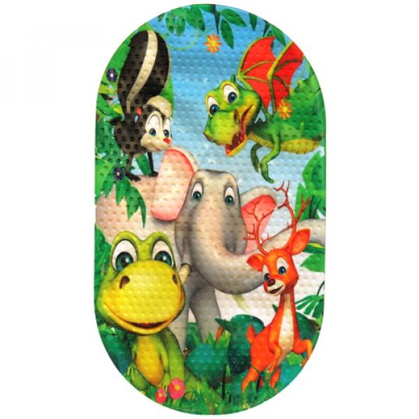MAGIC MAT Коврик противоскользящий в ванную 68*38 Слон
