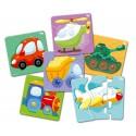 Макси-пазл Транспорт Baby toys