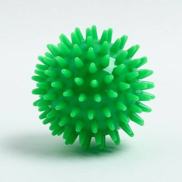 Мяч массажный ø7 см., цвет зеленый
