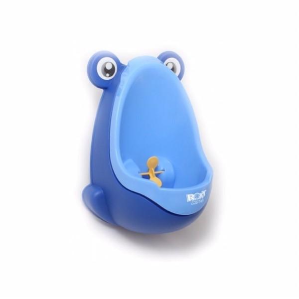 Писсуар для мальчиков ROXY-KIDS Лягушка с прицелом (синий)