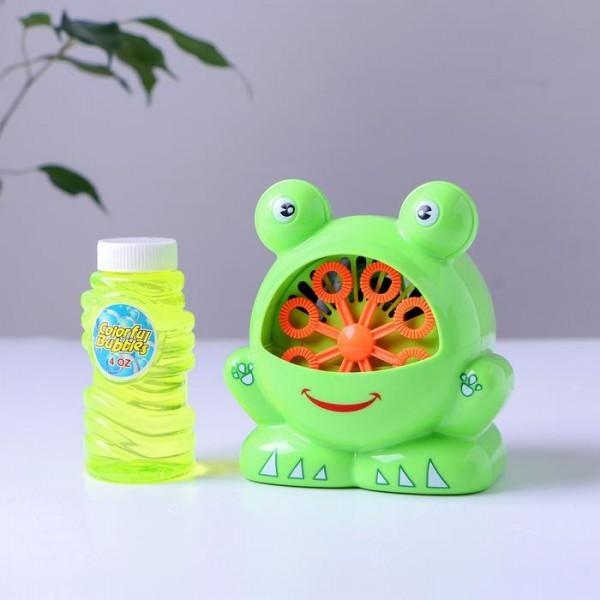 Генератор мыльных пузырей Лягушка