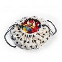 2 в 1: мини-мешок Disney Mini Mickey (40 см) для хранения игрушек и игровой коврик Play&Go.