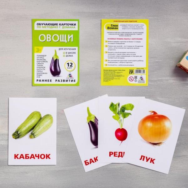 Карточки по методике Г. Домана Овощи