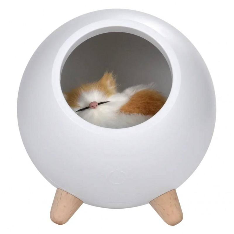 Ночник Домик для котёнка