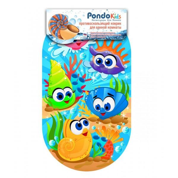 PondoKids коврик для ванны, 69*39(±1)см, Морские Ракушки
