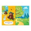 Аппликации набор Животные, 6 шт, 20 стр.