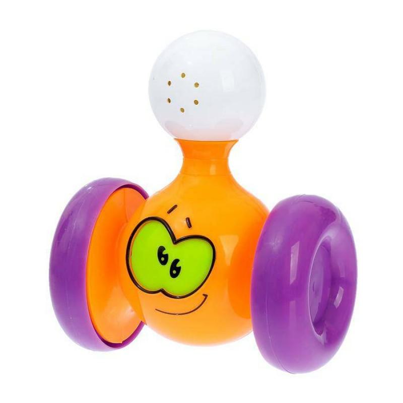 Развивающая игрушка Забавная каталка, звуковые эффекты, МИКС