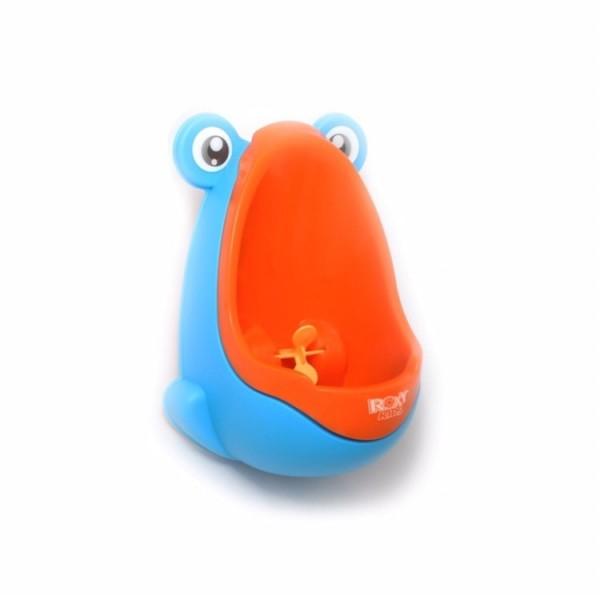 Писсуар для мальчиков ROXY-KIDS Лягушка с прицелом (апельсин)
