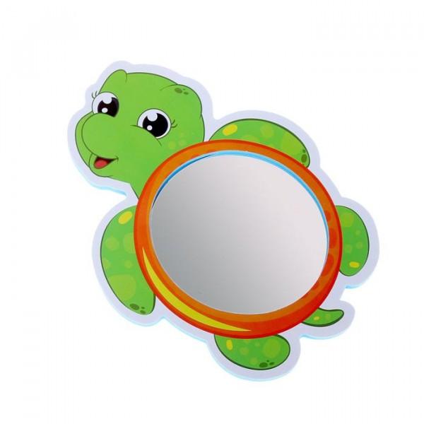 Зеркало мягкое для игры в ванной Черепашка