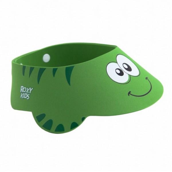 Защитный козырек для мытья головы Зеленая ящерка