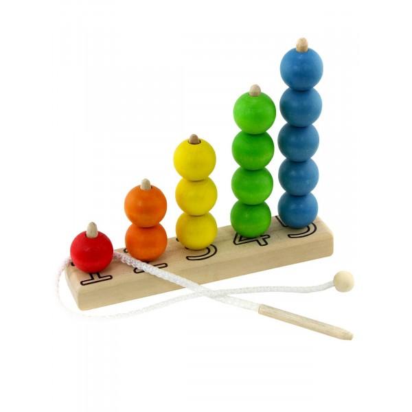 Развивающая игрушка Разноцветный счёт