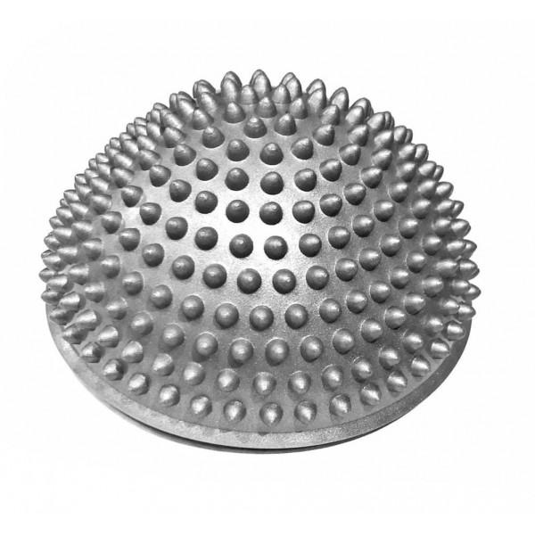 Массажер надувной для ног,  d=15 см, серый