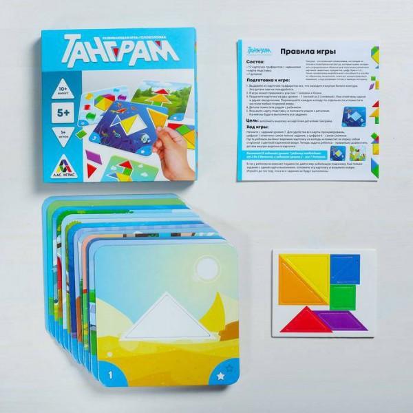 Развивающая игра-головоломка Танграм