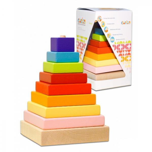 CUBIKA. Пирамидка (8 дет.)
