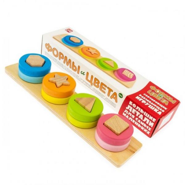 Развивающая игрушка-сортировщик