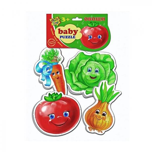 VladiToys. Мягкие пазлы Овощи