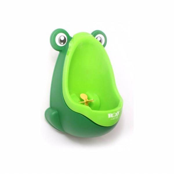 Писсуар для мальчиков ROXY-KIDS Лягушка с прицелом (зелёный)