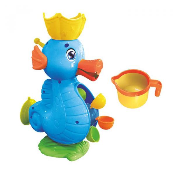 Игрушки для купания Мельница. Морской конёк, на присоске голубой