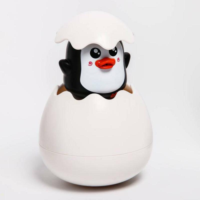 Игрушка для купания Пингвинчик в  яйце