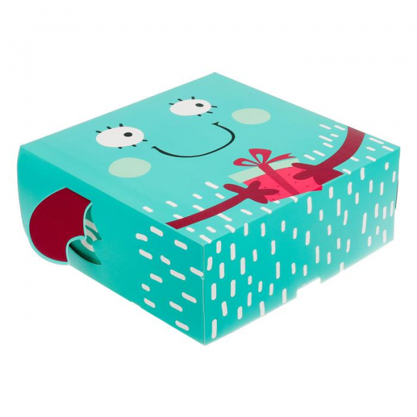 Коробка складная Бу, 25 х 25 х 10 см