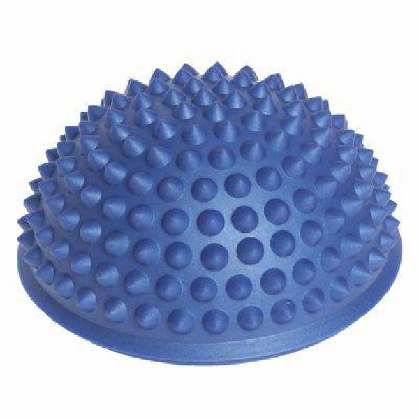 Массажер надувной для ног,  d=15 см, синий