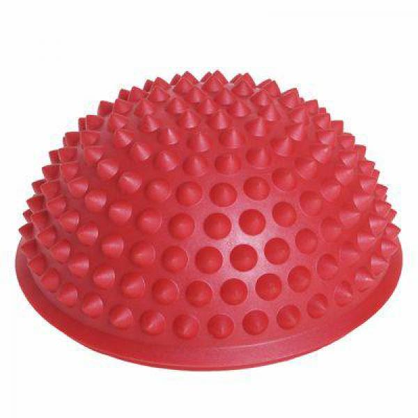 Массажер надувной для ног,  d=15 см, красный