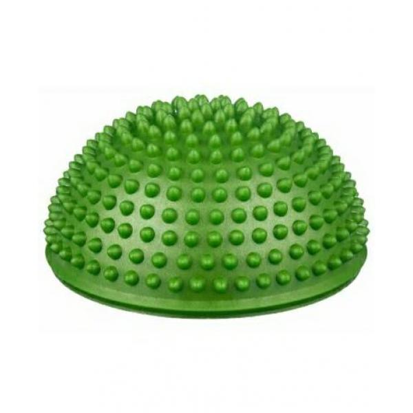 Массажер надувной для ног,  d=15 см, зеленый