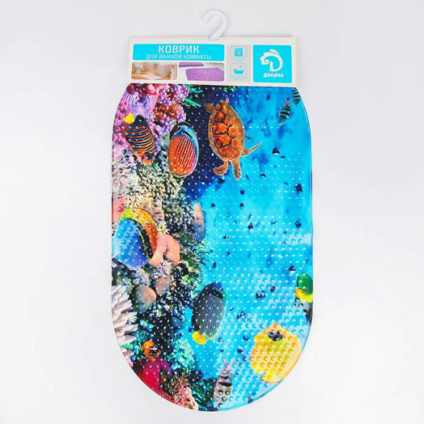 SPA-коврик для ванны 38х68 см Морское дно