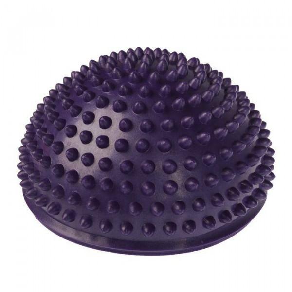 Массажер надувной для ног,  d=15 см, фиолетовый