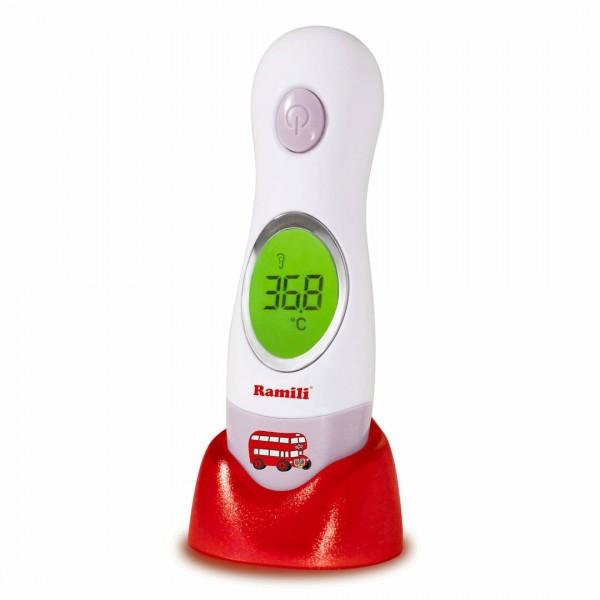 Ramili Инфракрасный ушной и лобный термометр (4в 1)