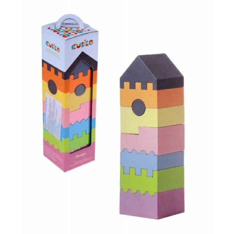 CUBIKA. Игрушка логическая Башня (8 дет.)