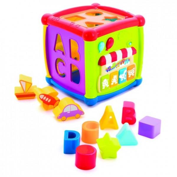 Жирафики. Развивающая игрушка Суперкуб