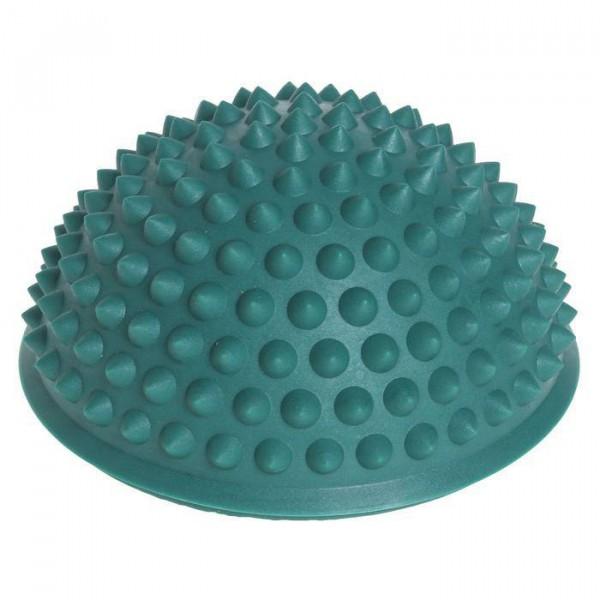 Массажер надувной для ног, d=15 см, темно зеленый